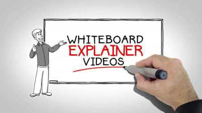 whiteboard animation explainer video to promote your services
