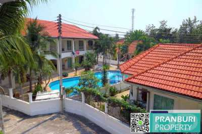 PRICED FOR FAST SALE! 1 bed condo only 1m Baht, north HUA HIN