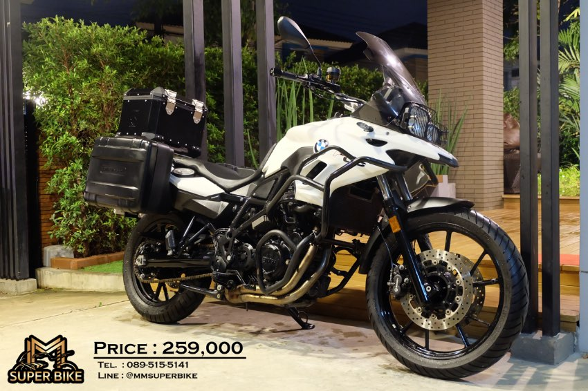 BMW F700GS 2016 with 3 boxes! Very valuable price!