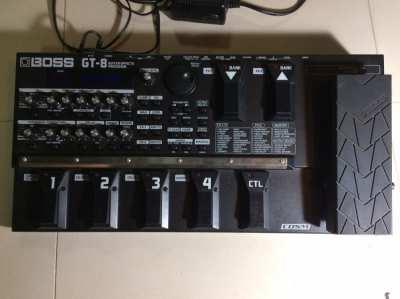 Boss GT8 Multi Effects Pedal