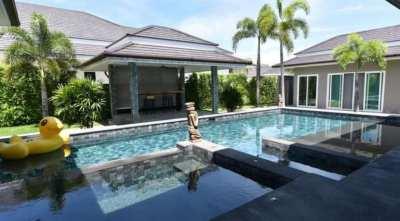 The Clouds new big pool villa next to Palm Hills golf club Hua Hin
