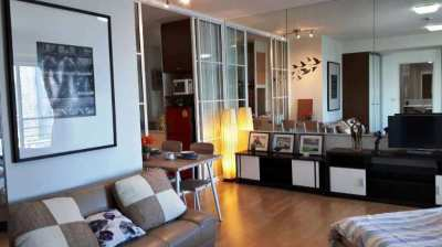 For rent Baan Sathorn Chao Phraya 1 bed, Fully-Furnished, ICON SIAM