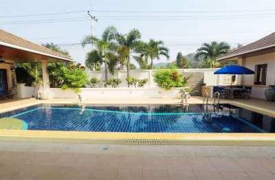 4 Bedroom Pool Villa with guesthouse at Hillside Hamlet, Hua Hin