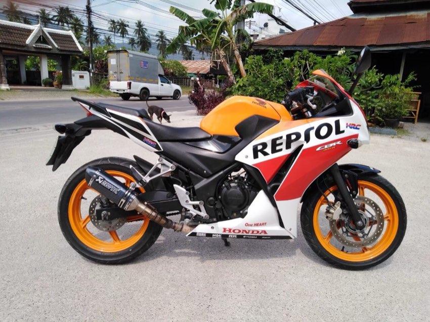 2015 Honda CBR 300 Repsol