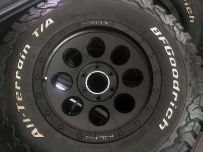 4 Off-road wheels (LENSO rims + BF GOODRICH tires)