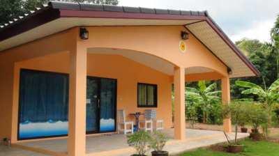 House new built, quiet village near Klaeng No.30110