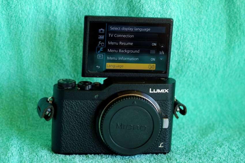 Panasonic Lumix GF9 Black body