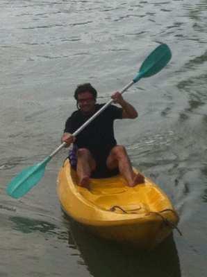 Kayak, composite, 2 seater, 380x90cm