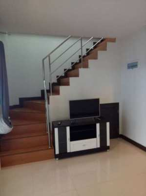 Townhouse for rent East Pattaya, Nongplalai, Chaiyapornvidhi road 25.
