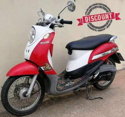 03/2008 Yamaha Fino 13.900 ฿ Finance by shop