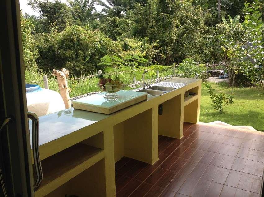 Luxury pool villa mountain view long term rent,900 m.to the beach.