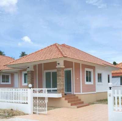 Brand new 2 BEDROOM HOUSE close to Khanom beach