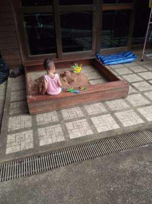 Wooden Sand box