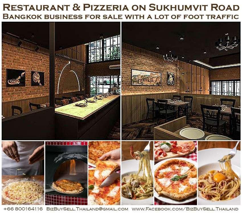 Profitable Restaurant & Pizzeria on Sukhumvit Road