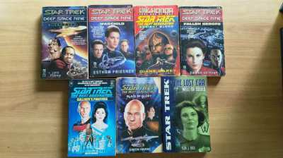 Star Trek books collection