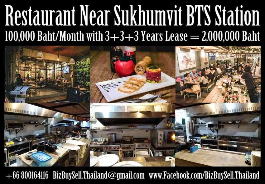 Restaurant in popular Sukhumvit Soi near Skytrain Station