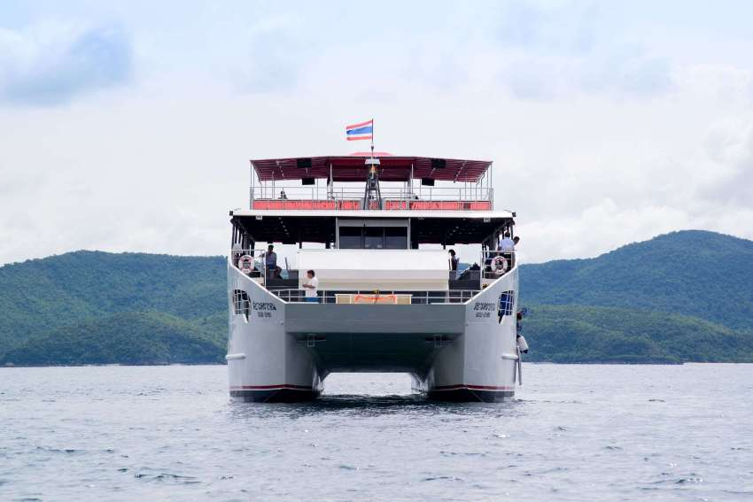 30M Steel catamaran boat for sale !!