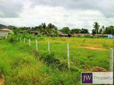 3 rai land suitable for a small development in Hua Hin