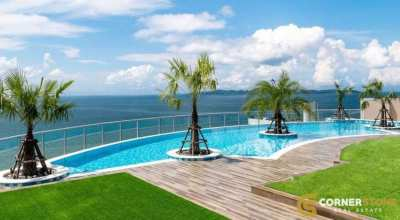 #CS1211 Sea View Beachfront 1 Bedroom in Pratumnak For Sale