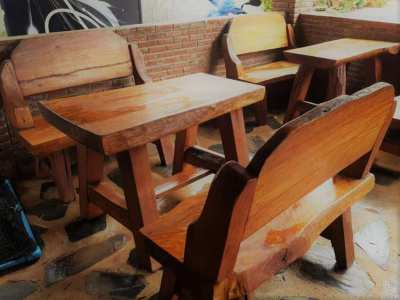 Real Hard Wood Restaurant furniture