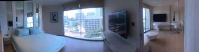 Luxury 1 bedroom condo  for sale on Pratumank Hill.