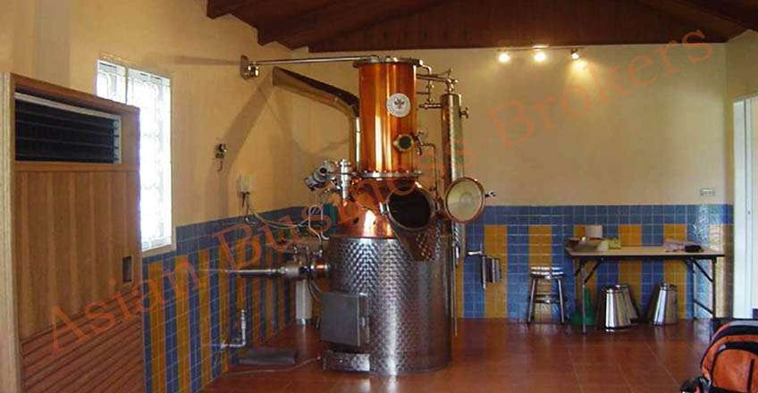 1007001 Established Chiang Mai Licensed Spirits Distillery