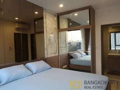 Ideo Mobi Asoke Ultra Luxury Condo Newly Furnished 1 Bedroom Unit