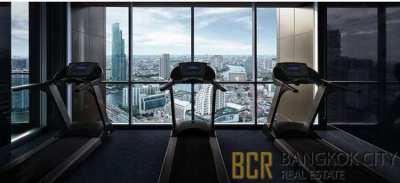 Rhythm Sathorn 21 Luxury Condo High Floor 1 Bedroom Unit for Rent