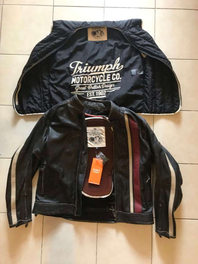 New Jacket Triumph RAVEN 2 - Never use