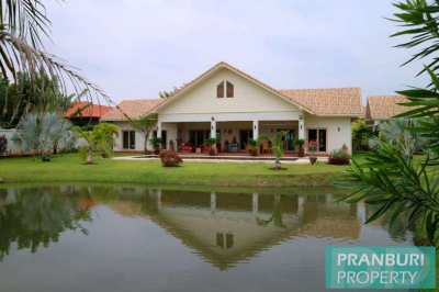 *REDUCED* Ready to move in large unique pool villa Pranburi