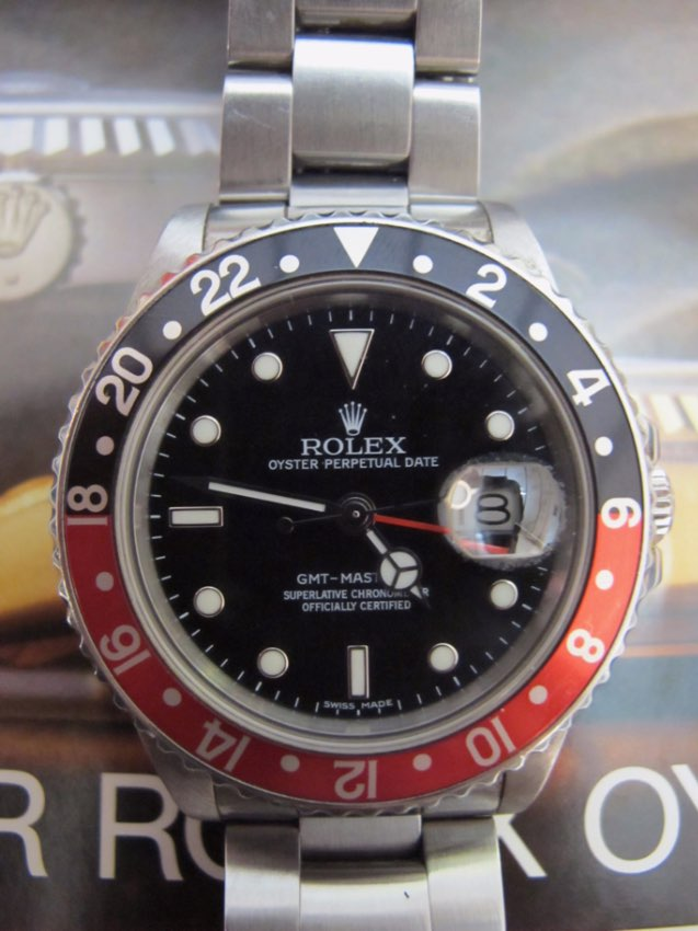 Rolex 16760 GMT Master II 'Fat Lady' 1986