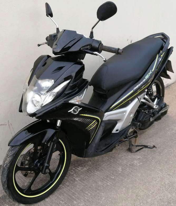 09/2012 Yamaha Nouvo SX 125 16.900 ฿ Finance by shop