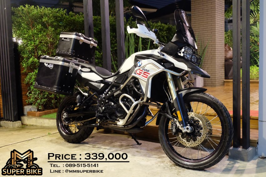 BMW F800GS 2016 with 3 Touratech boxes & only 5,5xx km!