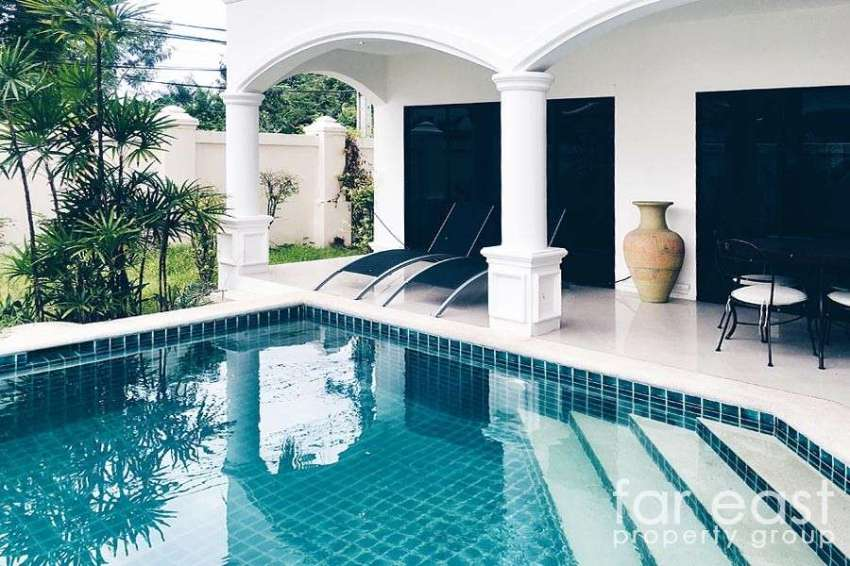 Palm Grove Resort Pool Villa Na Jomtien For Sale