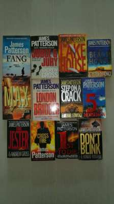 James Patterson collection books