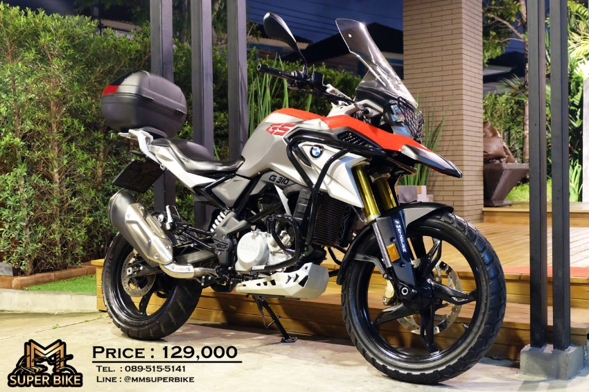 BMW G310 GS 2018 loads of accessories at an excellent price!