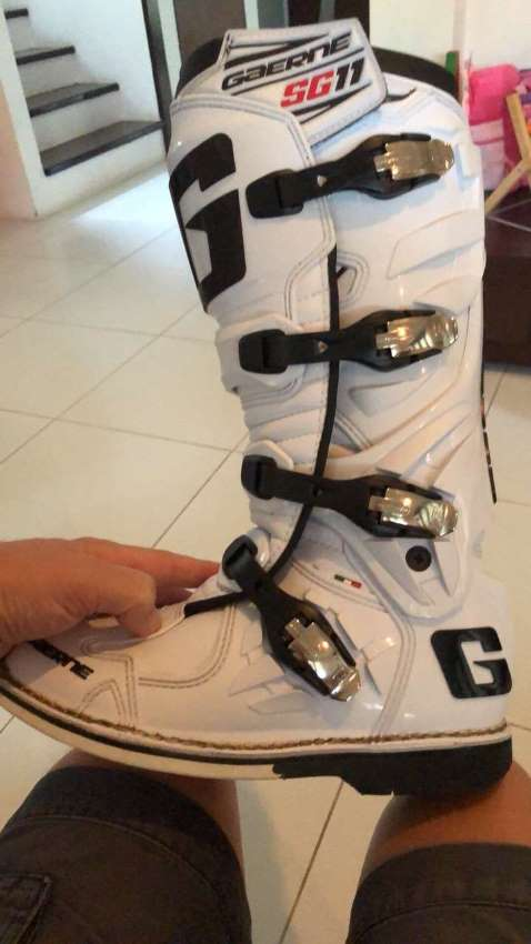 Gaerne SG-11 Motocross Boots Size UK 9 EU 43