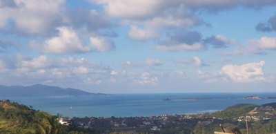 For Sale Land Bophut Koh Samui Sea view 1 rai / 2 rai