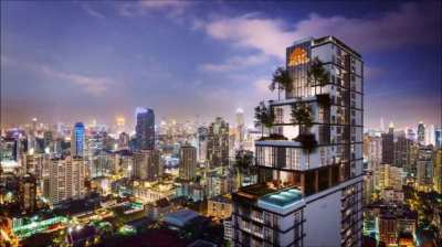The Lofts Asoke Penthouse 3 bedroom Duplex For Sale