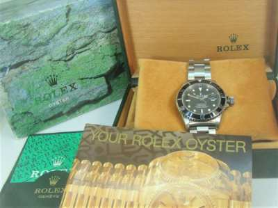 Rolex 16610 Submariner, as new condition