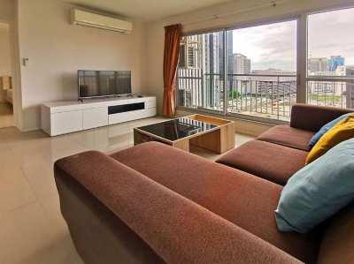 2 Bed Aspire Rama 9 Corner Room Large Glass Area Great Views