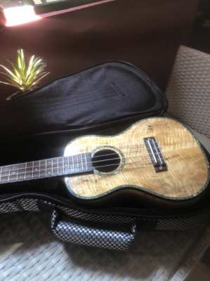 Beautiful ukulele Hawaii