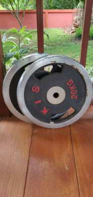 2x 15kg and 2x 20kg plates (100THB/kg)