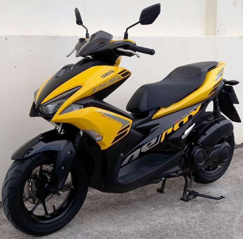 08/2018 Yamaha Aerox 155 51.900 ฿ Finance by shop