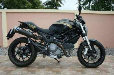 Ducati customised 796 Year 2014 9400km