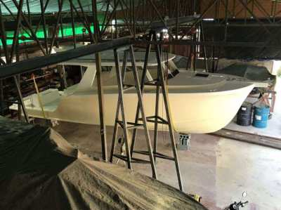 30ft Day Cruiser, Moulds, Tent Buildings, Tools to Build Series.