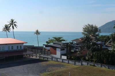 Beach front sea and moutain view apartment Nadan beach Khanom
