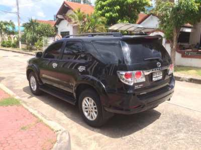 TOYOTA FORTUNER 2013 TOP