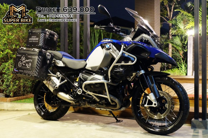BMW R1200 GSA 2015 with 3 BMW boxes! Excellent price!