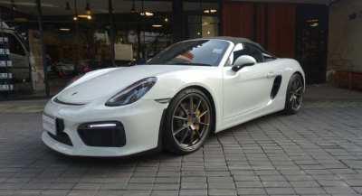 Porsche Boxster Spyder (981)